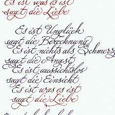 Gedichte erich liebe fried Erich Fried: