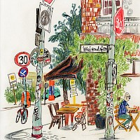 Kanalufer in Berlin